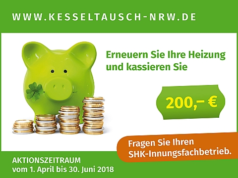 """Aktion """"Kesseltausch NRW"""" 2015"""