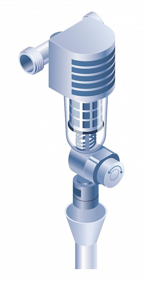 Trinkwasserfilter Schemazeichnung